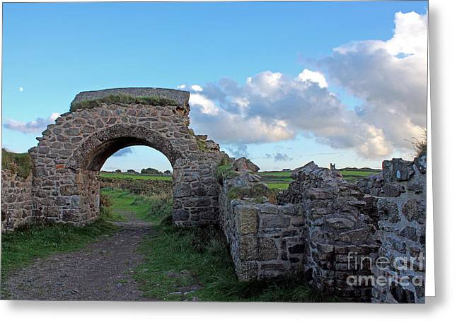 Terri Waters Greeting Cards - Arsenic Tunnels At Botallack Greeting Card by Terri  Waters