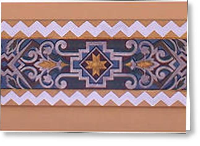 Union Station Lobby Greeting Cards - Art Deco Trim #1 Greeting Card by Nikolyn McDonald