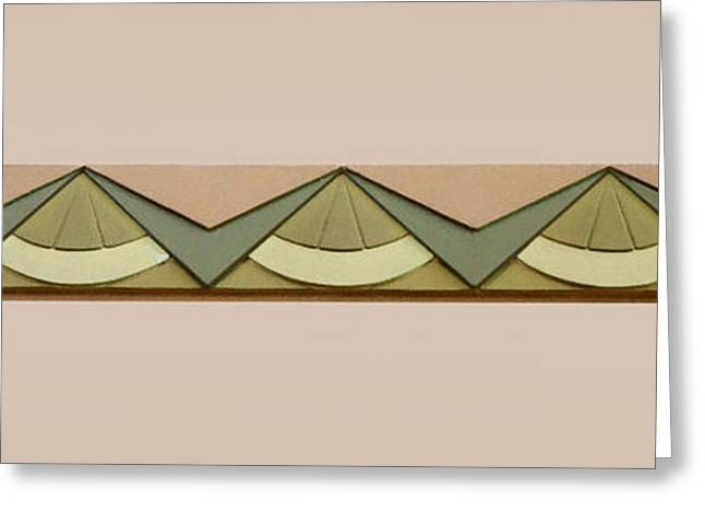 Union Station Lobby Greeting Cards - Art Deco Trim #2 Greeting Card by Nikolyn McDonald