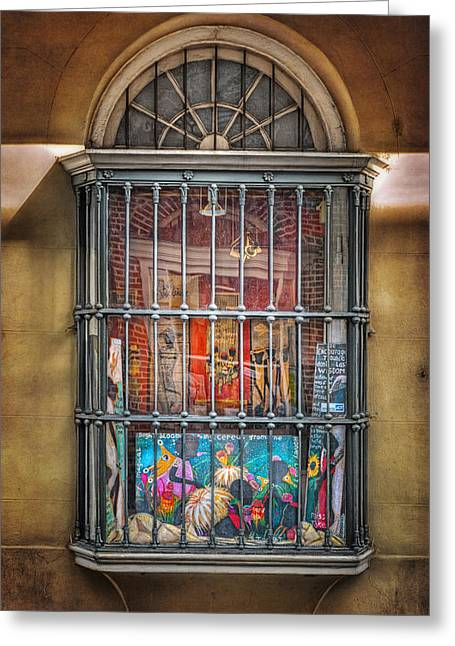 Antique Ironwork Greeting Cards - Art For Sale Greeting Card by Brenda Bryant