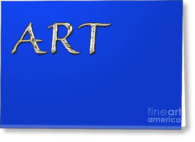 Installation Art Greeting Cards - Art Four Greeting Card by Tina M Wenger