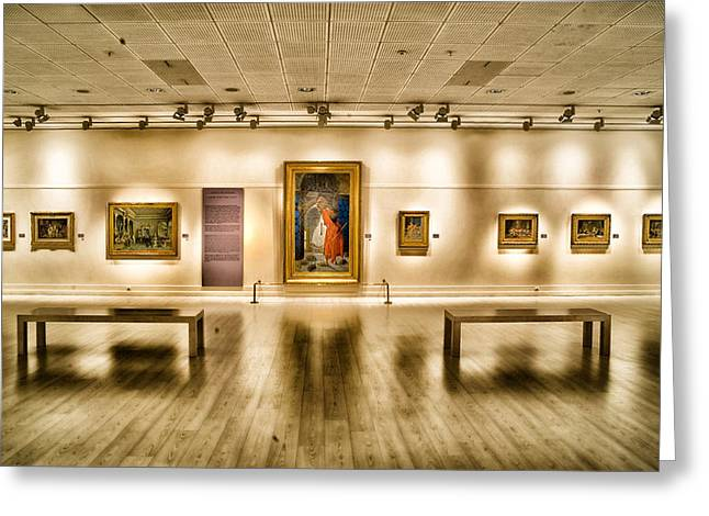 Istanbul Greeting Cards - Art Gallery in Istanbul Greeting Card by Mountain Dreams
