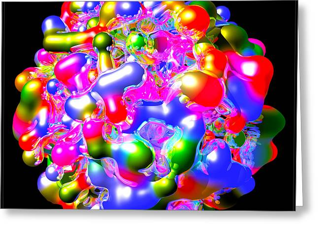 Embryo Mixed Media Greeting Cards - Art in Coalescence... Greeting Card by Tim Fillingim