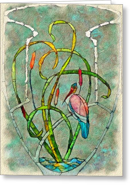 Academic Art Greeting Cards - Art Nouveau Greeting Card by Jack Zulli
