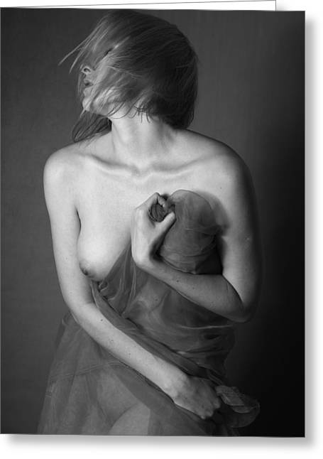Nude Photography Greeting Cards - Art Nude Photography NO.5 Greeting Card by Falko Follert