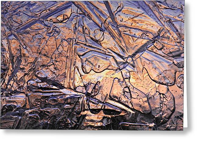 Holier Greeting Cards - Art of Ice 2 Greeting Card by Sami Tiainen