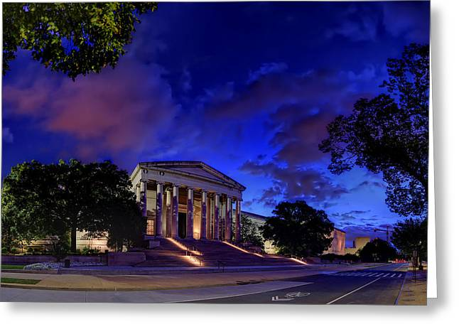 Art Road Greeting Card by Metro DC Photography
