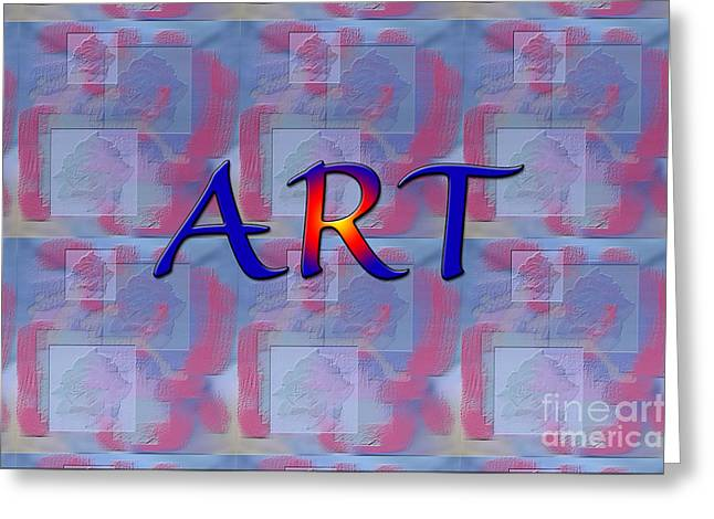 Installation Art Greeting Cards - Art Three Greeting Card by Tina M Wenger