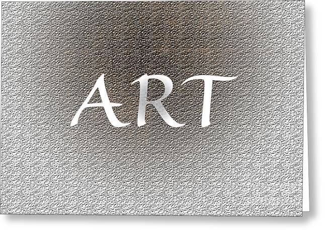 Installation Art Greeting Cards - Art Two Greeting Card by Tina M Wenger
