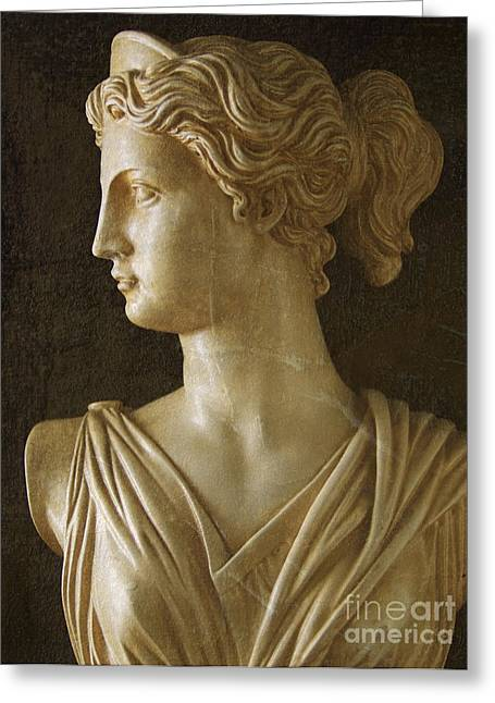 Ancient Greece Greeting Cards - Artemis Greeting Card by Diane Diederich