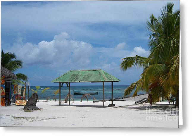 Inverse Greeting Cards - Artful Beach Greeting Card by Heather Kirk
