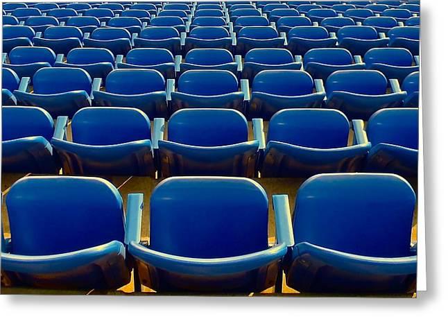 Arthur Ashe Greeting Cards - Arthur Ashe Stadium Greeting Card by Rob Michels