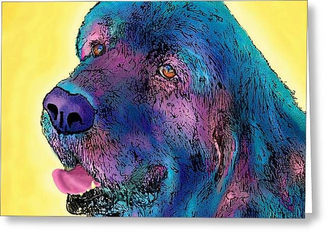 Arthur  Greeting Card by Marlene Watson