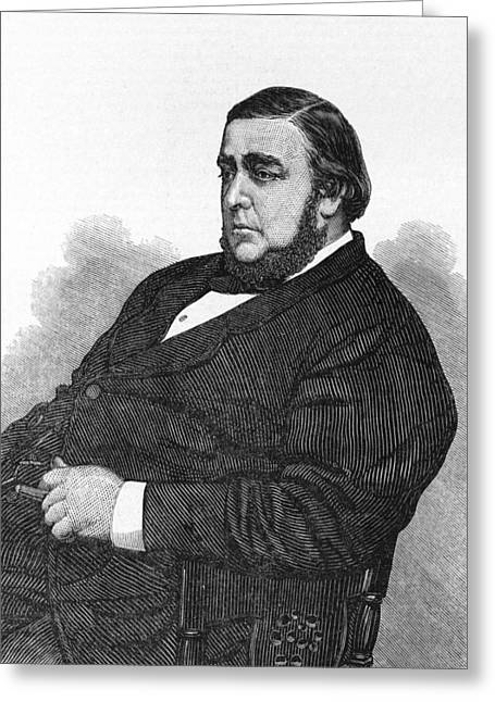 Sociology Greeting Cards - Arthur Orton, Tichborne case claimant Greeting Card by Science Photo Library