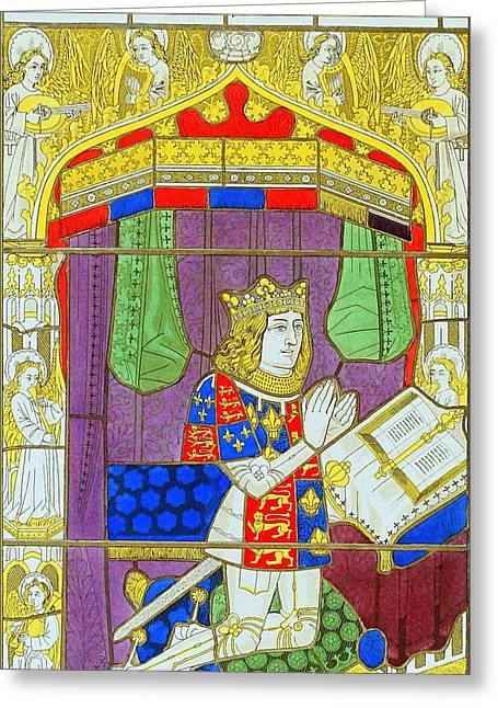Princes Greeting Cards - Arthur - Prince of Wales Greeting Card by Charles Ross