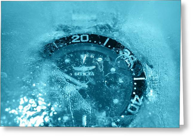 Experiment Greeting Cards - Arctic Blue Greeting Card by See My  Photos