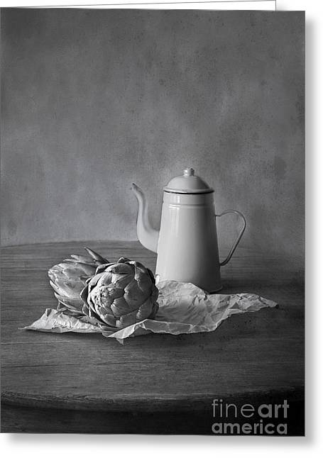 Fresh Produce Greeting Cards - Artichokes 2 Greeting Card by Elena Nosyreva
