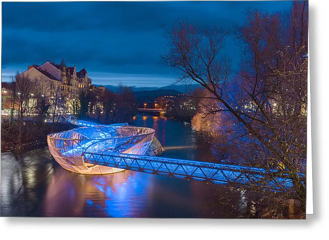 Styria Greeting Cards - Artificial island Greeting Card by Robert Boss