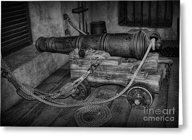 Fashion Pictures For Sale Greeting Cards - Artillery at the Ready Greeting Card by Lee Dos Santos