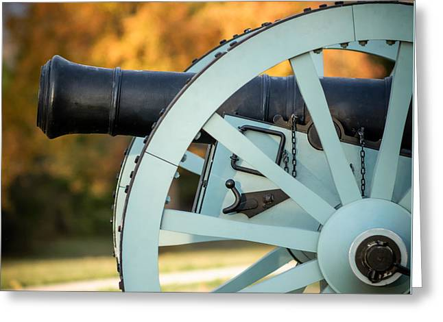 Fort Smith Greeting Cards - Artillery Greeting Card by James Barber