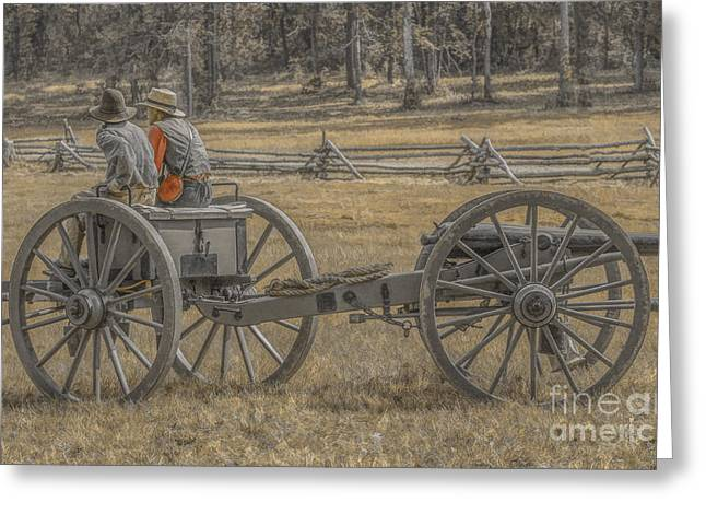 Army Of Northern Virgina Greeting Cards - Artillery to the Front Greeting Card by Randy Steele
