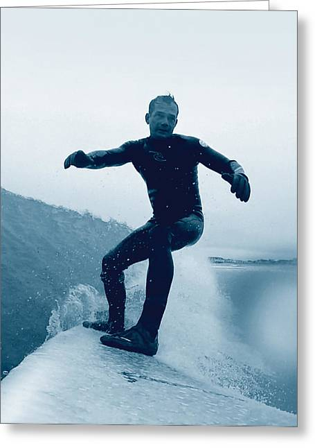 Go Pro Greeting Cards - Artist at Play Greeting Card by William Love
