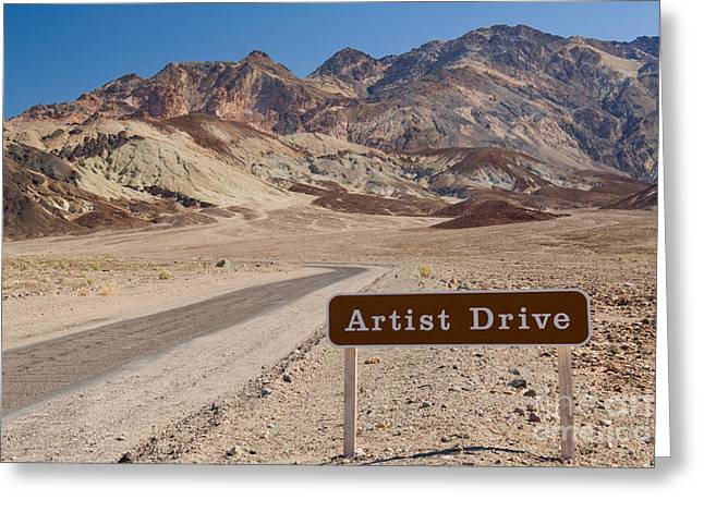 Hematite Greeting Cards - Artist Drive Greeting Card by Richard and Ellen Thane