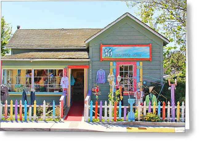 Cambria Greeting Cards - Artist Gallery in Cambria California  7142 Greeting Card by Jack Schultz