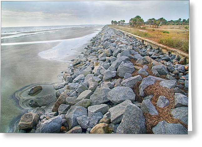 Rocks. Tidal Pool Greeting Cards - Artistic Division  Greeting Card by Betsy A  Cutler