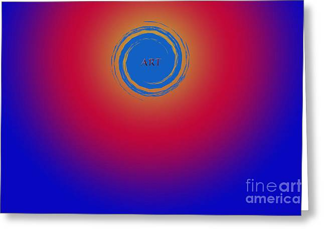 Installation Art Greeting Cards - Artistic Ideas Greeting Card by Tina M Wenger