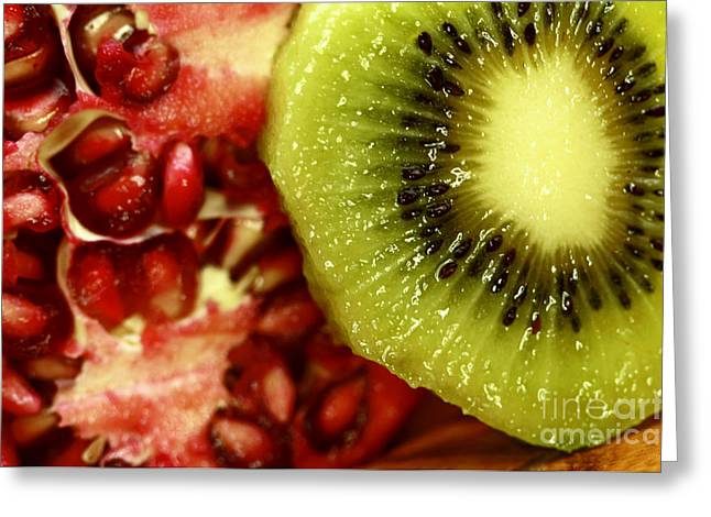Artistic Moments With Food Greeting Card by Inspired Nature Photography Fine Art Photography