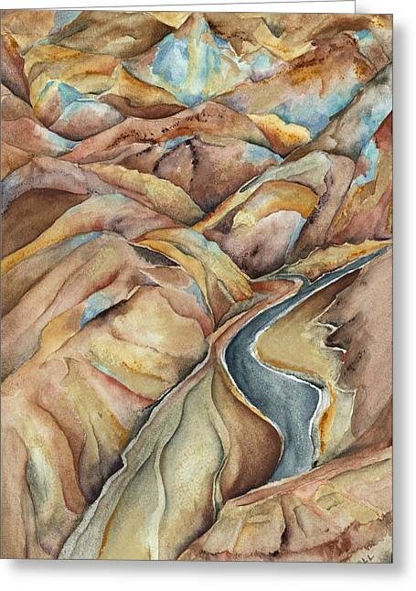 Lynne Bolwell Greeting Cards - Artists Palette Greeting Card by Lynne Bolwell