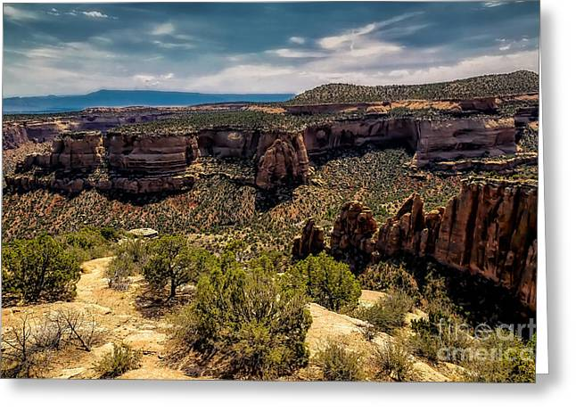 Praying Hands Greeting Cards - Artists Point Greeting Card by Jon Burch Photography