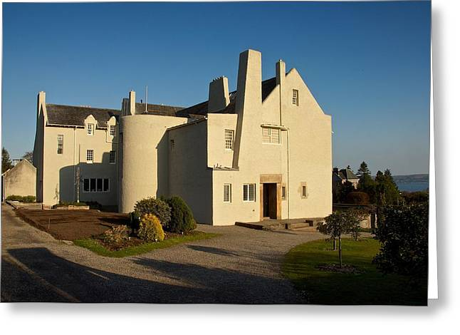 Rennie Greeting Cards - Arts and Crafts House Greeting Card by Stephen Taylor