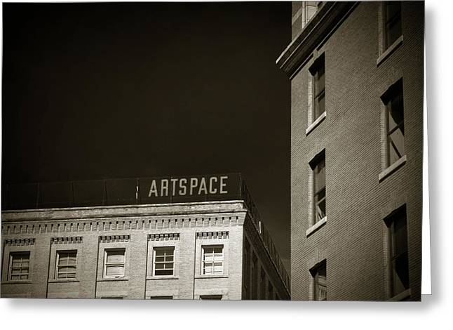 Artspace Greeting Card by Bryan Scott