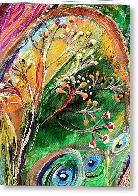 Art Prints Wholesale Greeting Cards - Artwork Fragment 48 Greeting Card by Elena Kotliarker