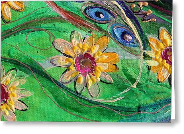 Art Prints Wholesale Greeting Cards - Artwork Fragment 67 Greeting Card by Elena Kotliarker