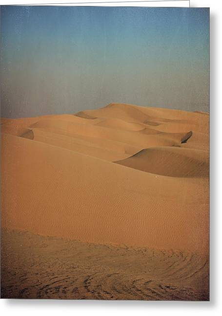 Sand Patterns Greeting Cards - As Change Comes Greeting Card by Laurie Search
