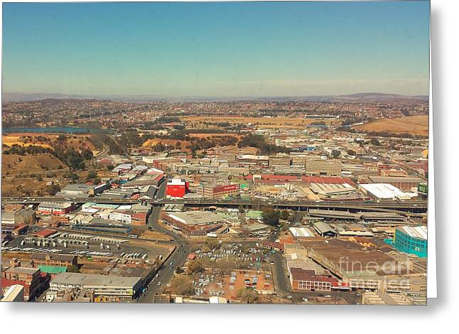 Johannesburg Greeting Cards - As Far As The Eyes Can See Greeting Card by Lisa Byrne