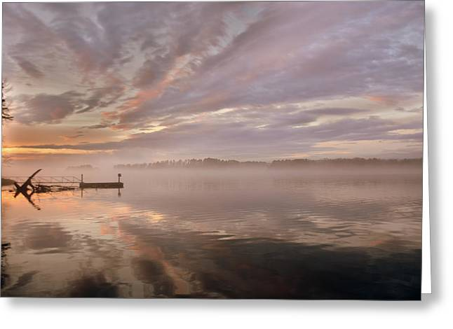 Dock Greeting Cards - As Good As Gone Greeting Card by Lisa Wooten