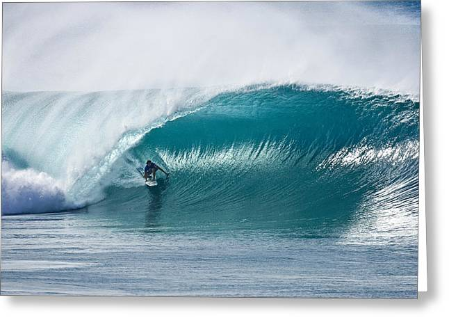 Surf Photography Greeting Cards - As Good As It Gets. Greeting Card by Sean Davey