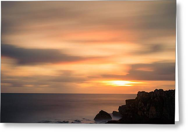 Colorful Cloud Formations Greeting Cards - As The Day Fades Away I Greeting Card by Marco Oliveira