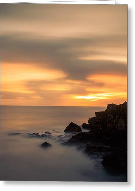 Colorful Cloud Formations Greeting Cards - As The Day Fades Away II Greeting Card by Marco Oliveira