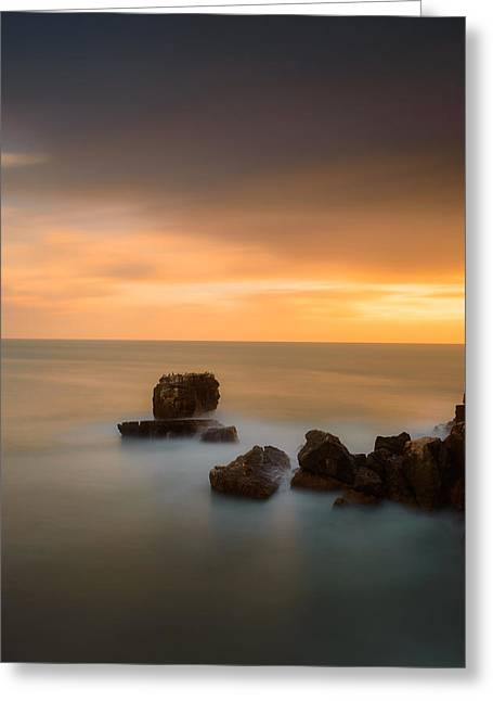 Colorful Cloud Formations Greeting Cards - As The Day Fades Away III Greeting Card by Marco Oliveira