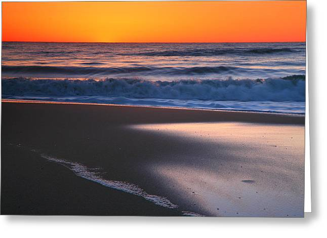 Photogaph Greeting Cards - As The Sun Rises Greeting Card by Steven Ainsworth