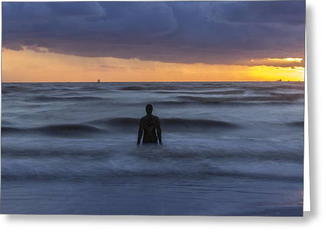 Ironman Greeting Cards - As the tide rolls in Greeting Card by Paul Madden