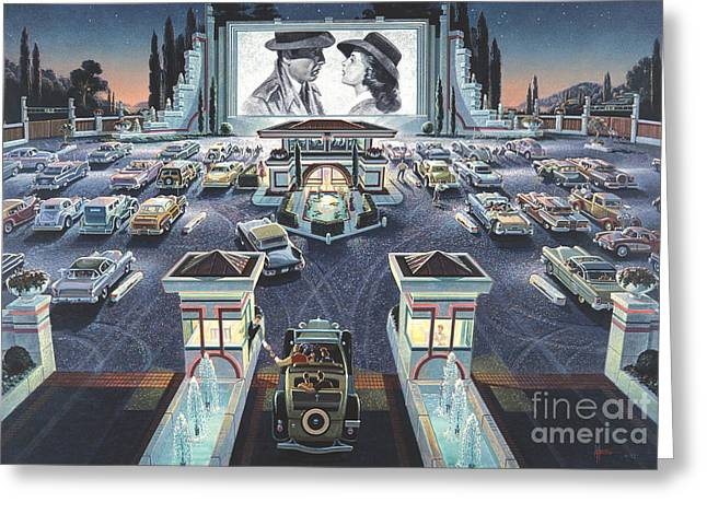 Casablanca Greeting Cards - As Time Goes By Greeting Card by Michael Young
