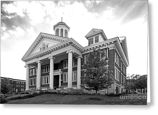 Theological Art Greeting Cards - Asbury University Hager Administration Building Greeting Card by University Icons