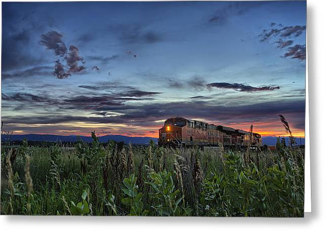 Iron Horse Greeting Cards - Ascend Greeting Card by Thomas Zimmerman