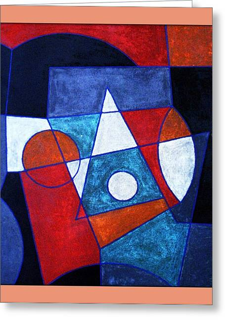 Ascension Mixed Media Greeting Cards - Ascendent.99 Greeting Card by Peter-hugo Mcclure